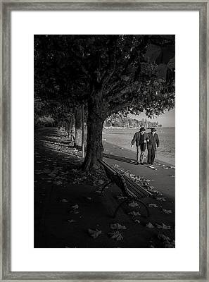 Framed Print featuring the photograph A Walk In The Park by Antonio Jorge Nunes
