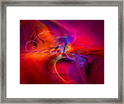 Peace Of Mind - Meditation Art Prints Framed Print