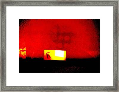 A Walk Through Hell Framed Print by Tyler Schmeling
