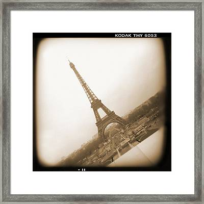 A Walk Through Paris 11 Framed Print by Mike McGlothlen