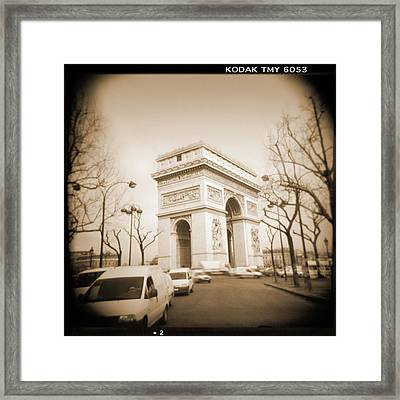 A Walk Through Paris 2 Framed Print by Mike McGlothlen