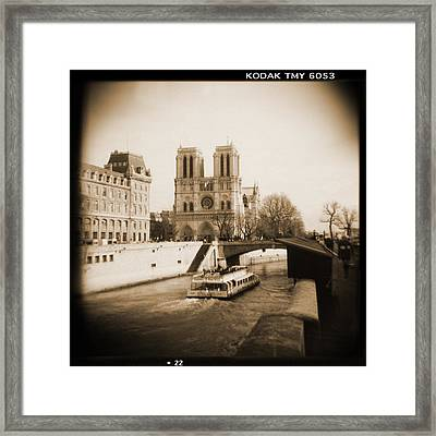 A Walk Through Paris 22 Framed Print by Mike McGlothlen