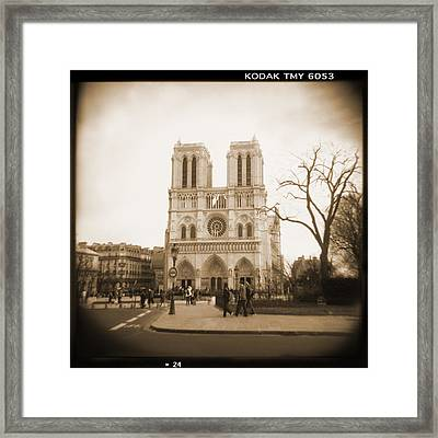 A Walk Through Paris 24 Framed Print by Mike McGlothlen