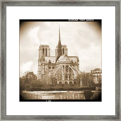 A Walk Through Paris 25 Framed Print by Mike McGlothlen