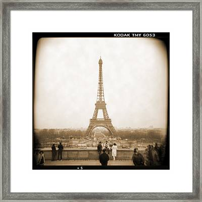 A Walk Through Paris 5 Framed Print by Mike McGlothlen
