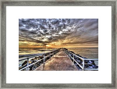 A Walk To The Horizon Framed Print