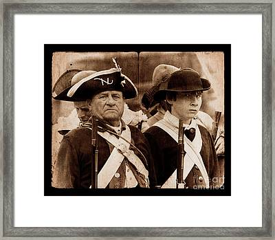 A War For The Ages Framed Print by Mark Miller