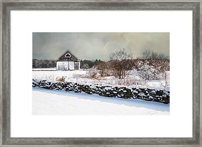 A Warm Spot Framed Print