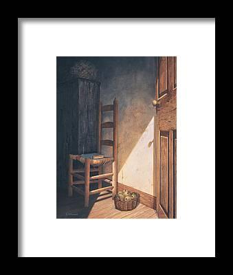 Open Door Framed Prints