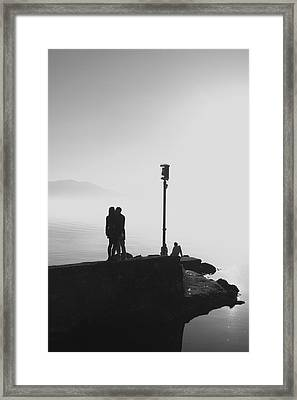 Framed Print featuring the photograph A Warm Winter's Day by Colleen Williams