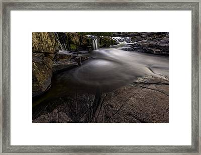 A Waterfall Framed Print
