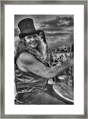 A Wavy Gravy Kind Of Guy Framed Print by William Fields