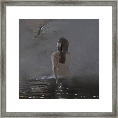 A Way Out Framed Print by Hope Weaver
