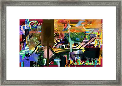 A Way To Bring The World To Tsheuvah 10 Framed Print by David Baruch Wolk