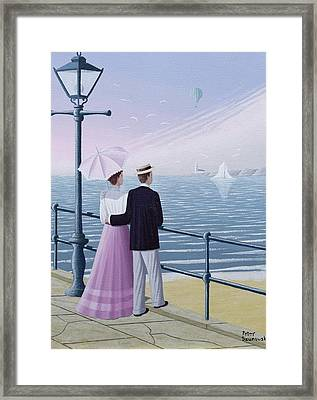A Weekend Break Framed Print
