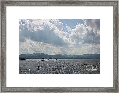 A Weekend On The Water Framed Print