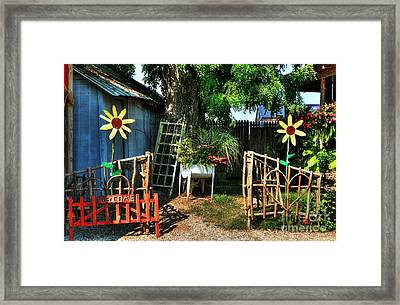 A Welcome Sign Framed Print
