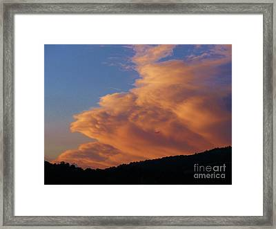 A Welcomed Visit Framed Print by Jacquelyn Roberts
