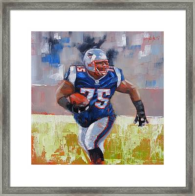A Well Conditioned Athlete Framed Print