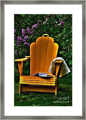 A Well Deserved Rest Framed Print by Randi Grace Nilsberg