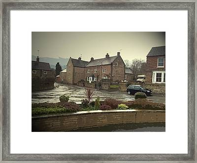 A Wet Afternoon In Little Eaton,  A Wet Afternoon In Little Framed Print