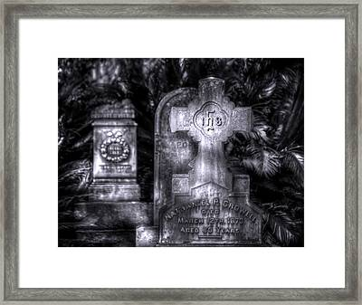 A Whisper From The Past Framed Print by Mark Andrew Thomas