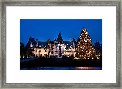 A White Christmas Framed Print