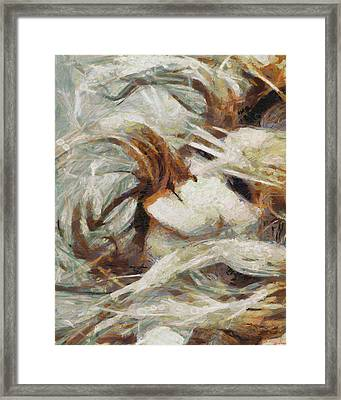 Framed Print featuring the painting A Wild Dance by Joe Misrasi