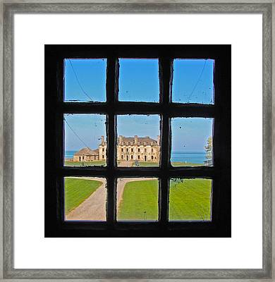 A Window To The Past Framed Print by Kathleen Scanlan