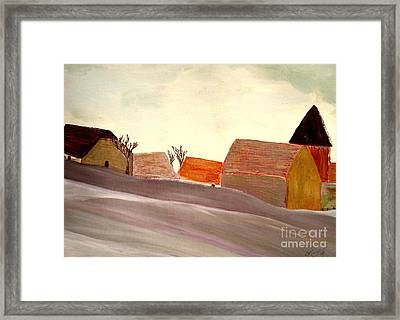 A Winter Morning Framed Print by Bill OConnor