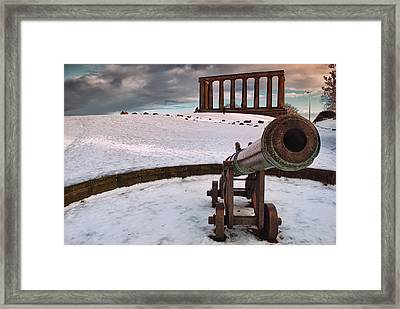 A Winter Tribute Framed Print