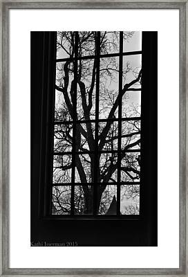 A Winter View Framed Print by Kathi Isserman