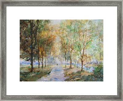 A Winter Walk Framed Print by Malcolm Mason