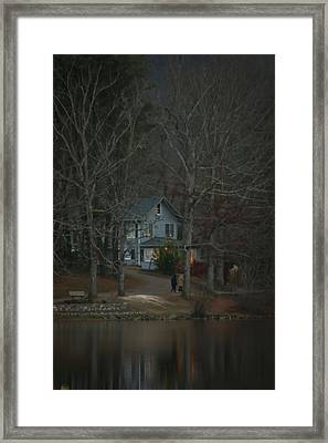 A Winter Walk Framed Print