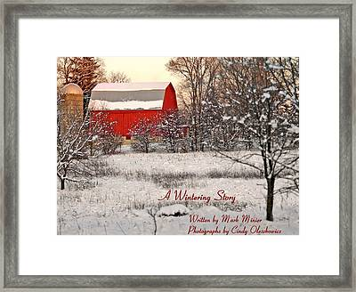 A Wintering Story Framed Print