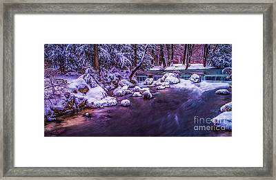 a winter's tale II - hdr Framed Print by Hannes Cmarits