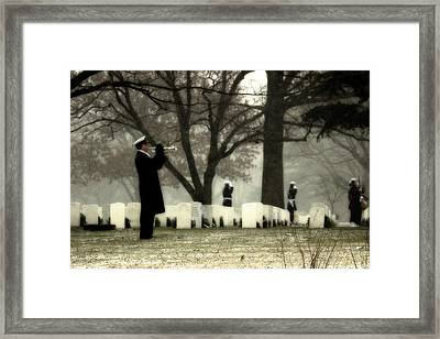 A Wintry Final Call Framed Print by Mountain Dreams