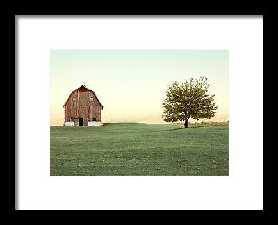 Old Barns Framed Prints