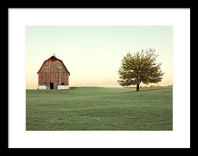 Old Barns Framed Prints