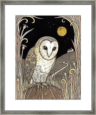 A Wise One Waits Framed Print by Anita Inverarity