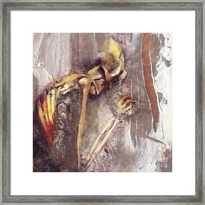 A Wish To Die Artistically Framed Print