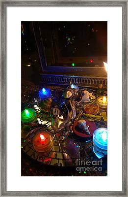 A Wishing Place 6 Framed Print