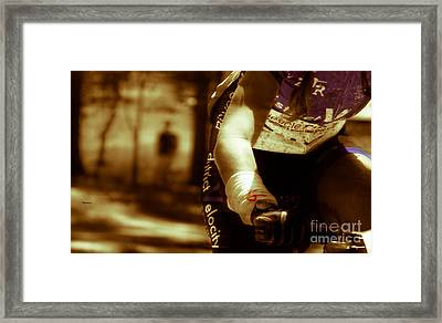 A Woman At Arm's Length  Framed Print by Steven Digman
