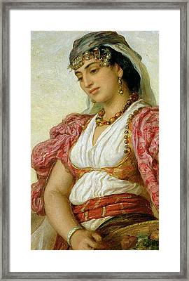 A Woman From Algiers Framed Print