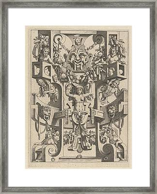 A Woman Is Trapped, Anonymous Framed Print by Anonymous