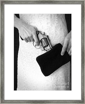A Woman Scorned Framed Print by Edward Fielding
