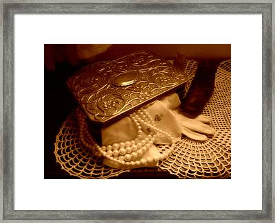 A Mother's Memories Framed Print by Wild Thing