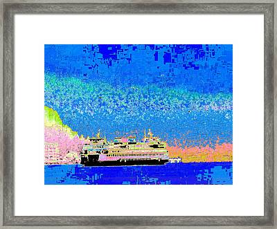 A Wonderful Day On The Sound Framed Print by Tim Allen
