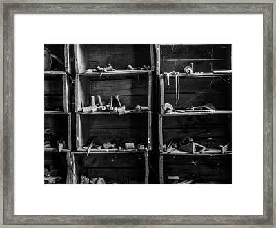 A Workshop Waits Framed Print by Kaleidoscopik Photography