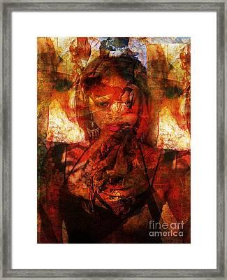 A World Apart Framed Print by Fania Simon